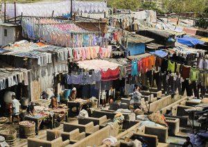 Bügelservice in Indien