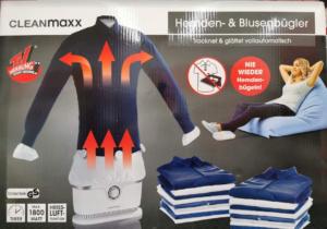 Bügelpuppe cleanmaxx für Privatanwender